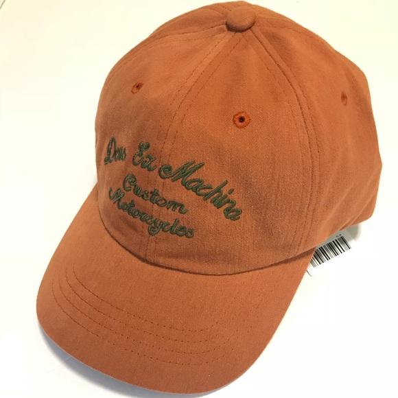 249407d7e5893 Deus Ex Machina Custom Baseball Hat Cap NWT